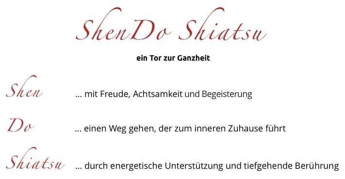 Was ist ShenDo Shiatsu?